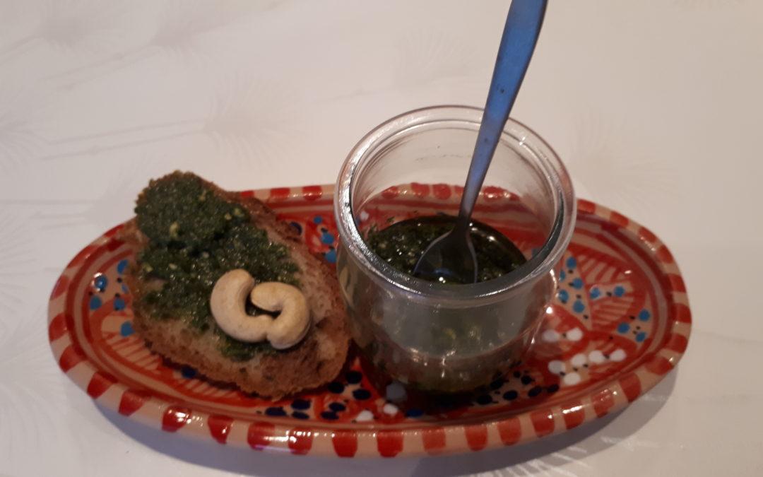 Pesto au chou kale