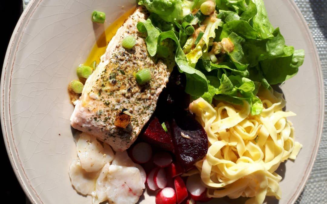 Pavé de saumon : le plein d'oméga 3 !