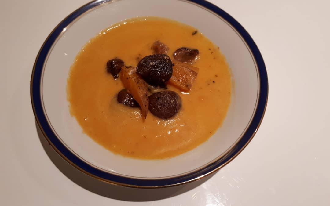 Soupe d'automne, déclinaison en fonction des goûts et des soirs