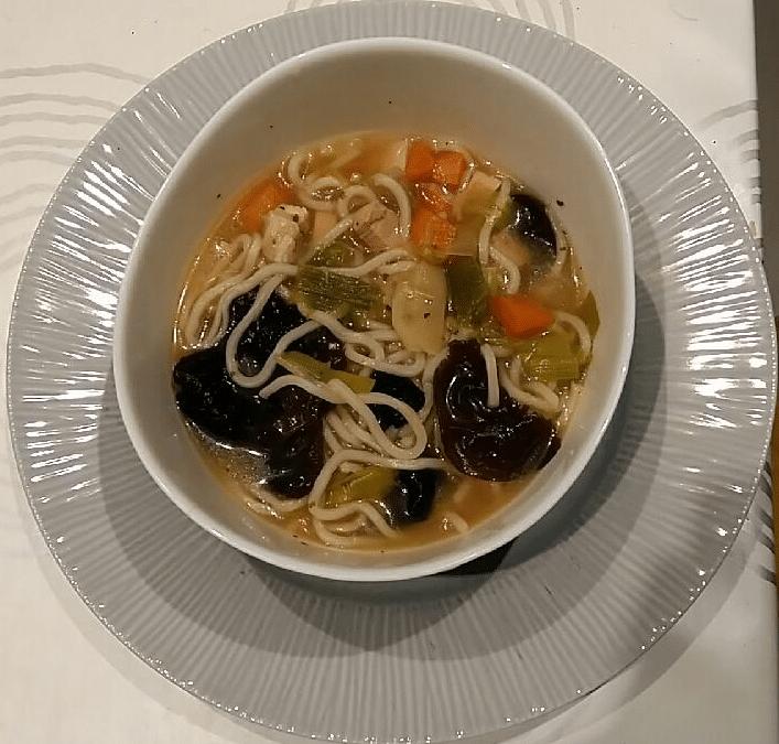 Idée du soir : soupe thaï